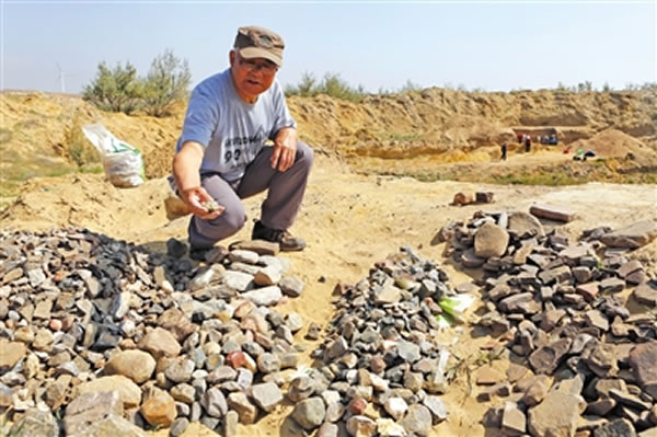 宁夏鸽子山旧石器遗址又有新发现