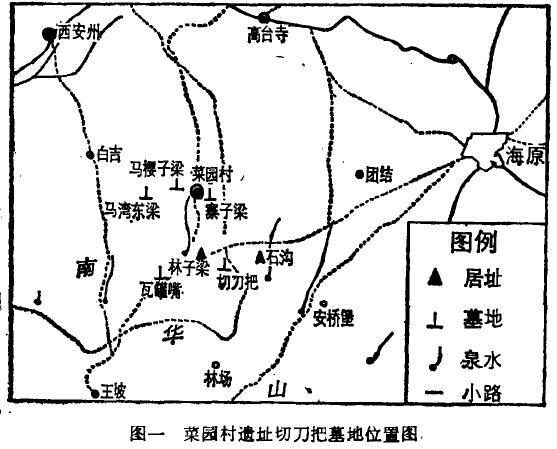 宁夏海原县菜园村遗址切刀把墓地
