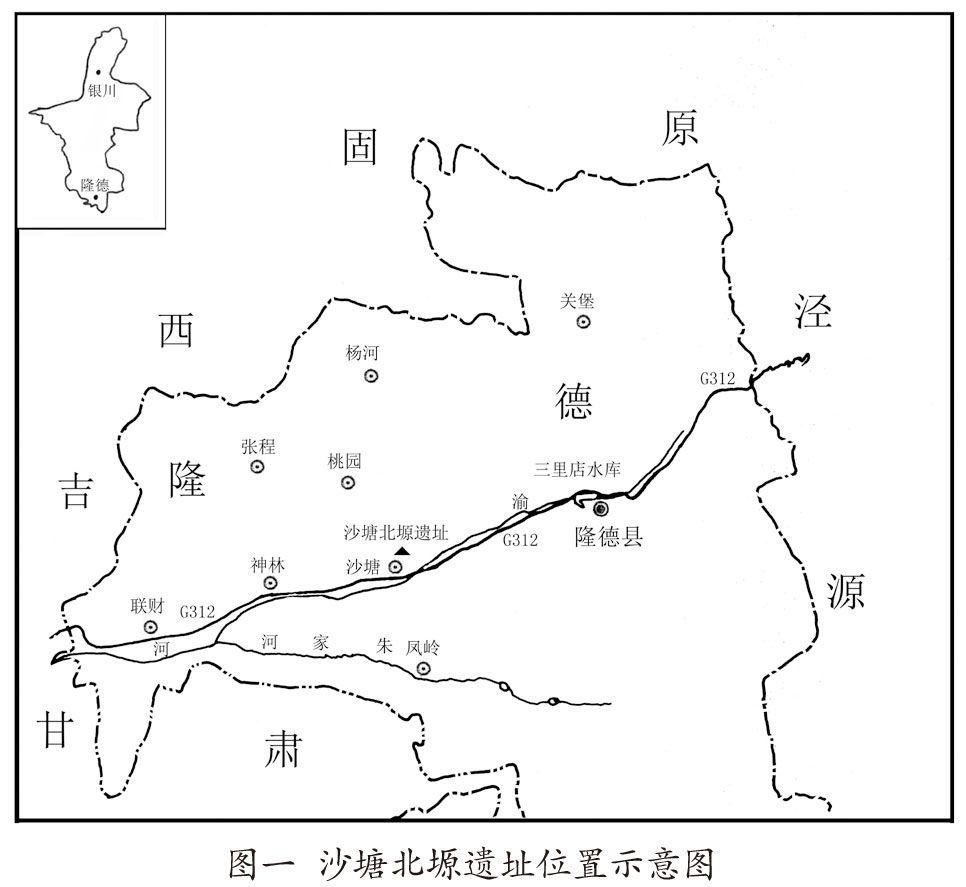 宁夏隆德沙塘北塬遗址2013年发掘简报