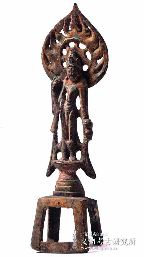 鎏金菩萨立像
