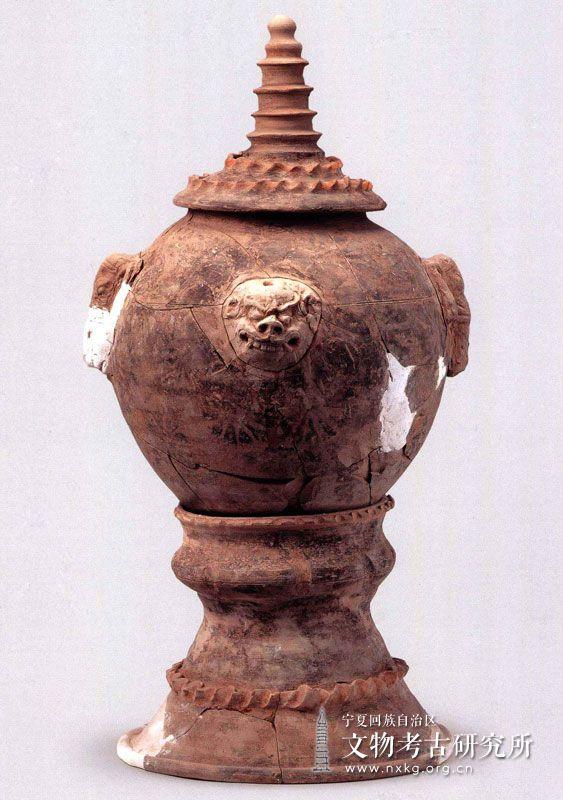 象面、兽面塔形罐