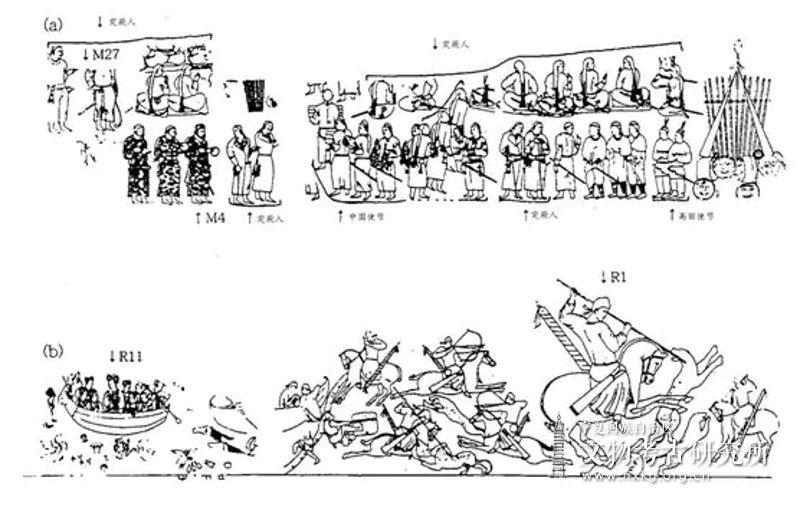影山悦子:撒马尔罕壁画所见中国绘画因素——高丽使节是否在拂呼缦...