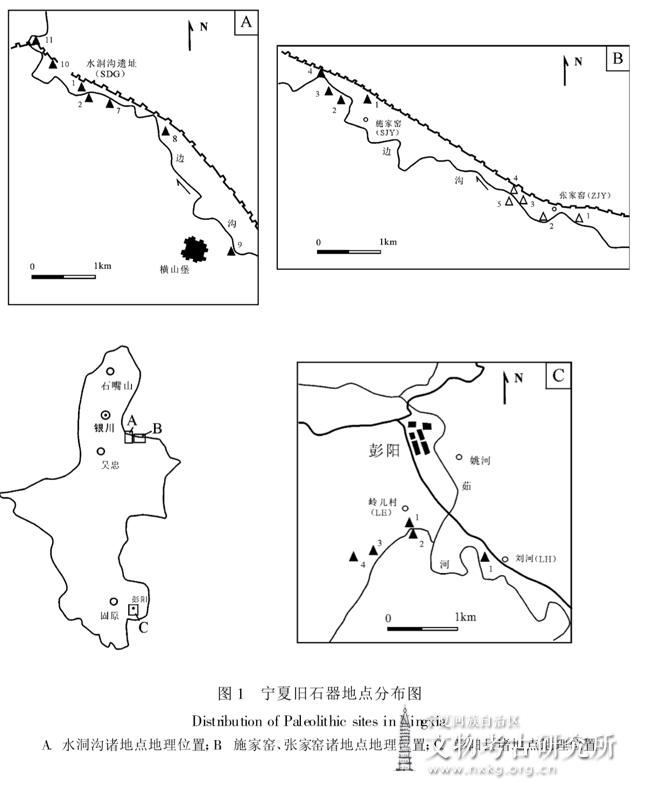 宁夏旧石器考古调查报告
