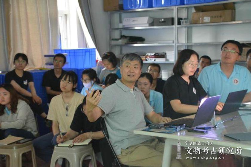 水洞沟考古工地邀请北京大学王幼平教授开展系列学术讲座